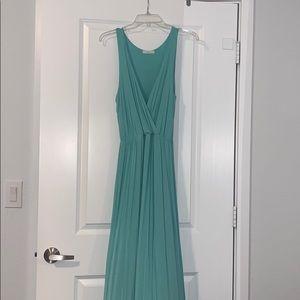 Mint green Lush maxi dress